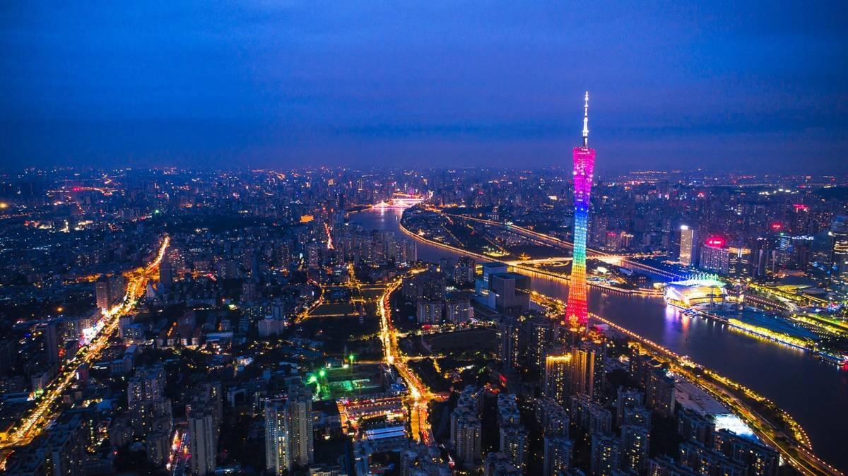 广州塔-新年